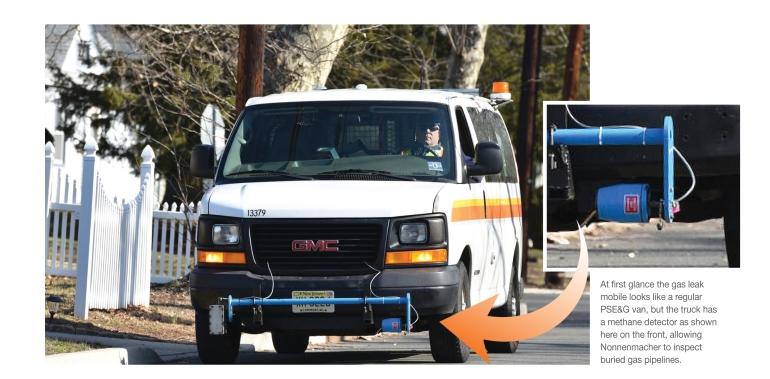 gas leak mobile